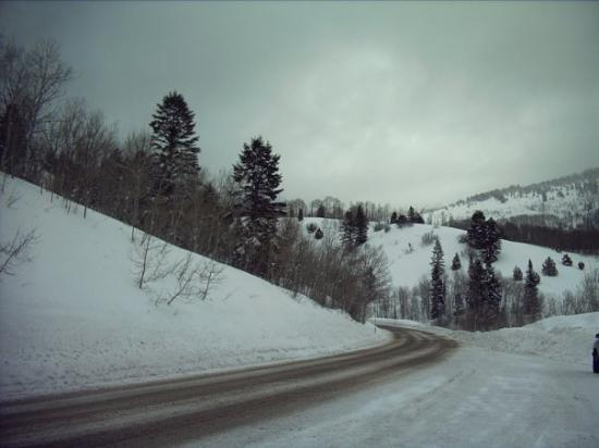 Preston, ไอดาโฮ: Trip Over the mountain here in Idaho