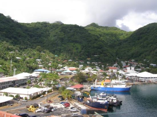 Pago Pago, American Samoa.