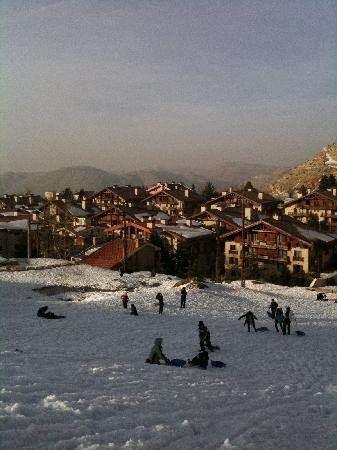 Kfardebian, Lebanon: Another view from the slope