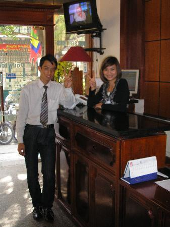 Hanoi Capital Hotel : Welcome