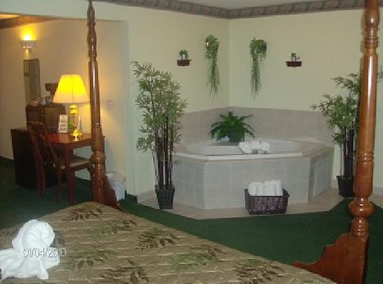 GuestHouse Inn & Suites Kelso: Spa Suite