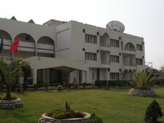 Hotel Imphal is the largest and most secure hotel in the area.