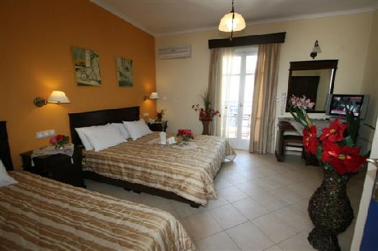 ‪‪Agios Prokopios‬, اليونان: HOTEL KATERINA ROOMS‬
