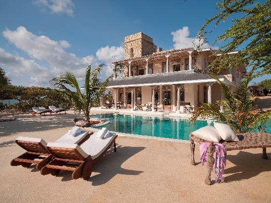 The Majlis Lamu Ltd: Overview of one of the villas