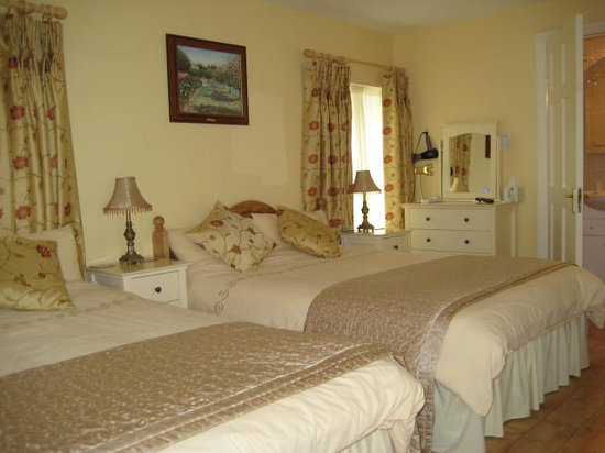 O'Driscoll's Bed & Breakfast: Luxury Bedroom at O'Driscoll's B&B. Glin