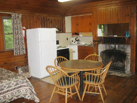 Kitchen Of Rustic Cabin Picture Of Norris Dam State Park