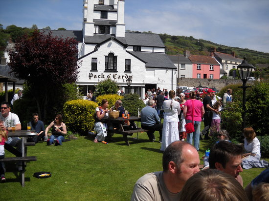 Combe Martin, UK: Set in 1 acre of Gardens with Parking for 80+ Cars