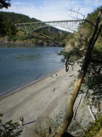 Bellingham, Etat de Washington : Deception Pass