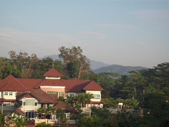 Klana Resort Seremban: view outside the bedroom window