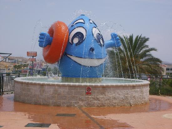 Mojacar, Spain: One of the attractions at Vera Water Park