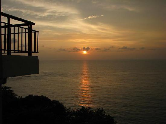 Ancasa Resort AllSuites, Port Dickson: Nice sunset view from the apartment