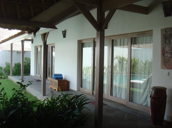 Villa Damai: the rooms