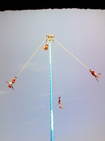 Los Voladores of Papantla