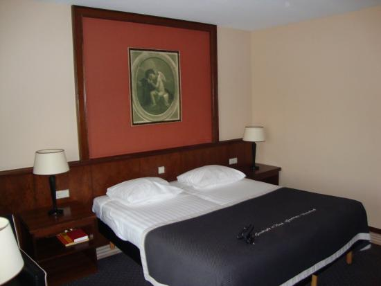 Van der Valk Hotel Groningen Westerbroek: Maybe they bought it if 5 euro, but I really liked the painting over the bed