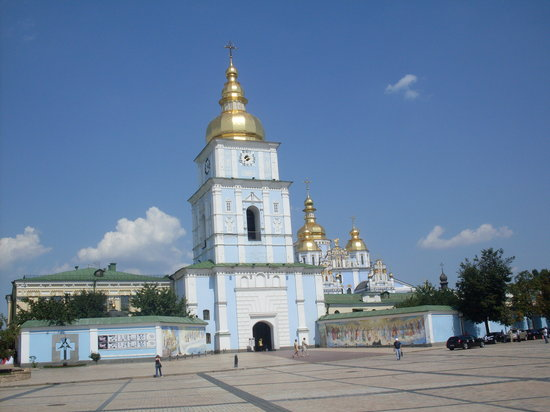 Kijów, Ukraina: St.Michael's Golden-Domed Monastery