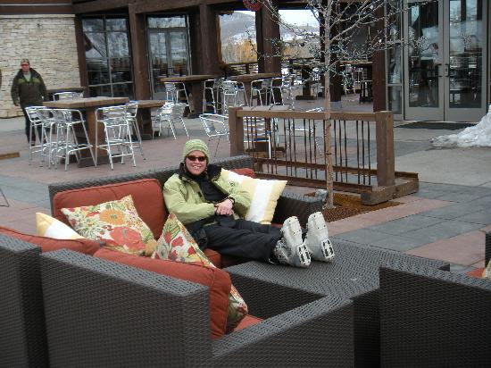 Silver Star at Park City: lounging outside