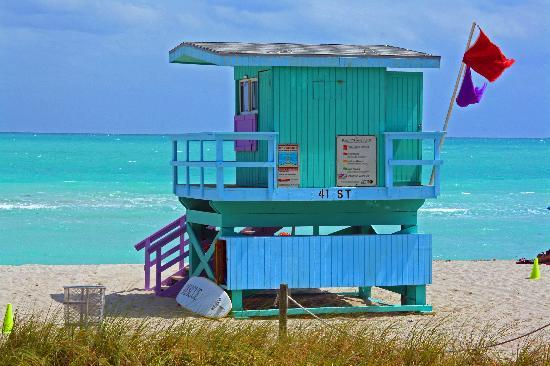Lifeguard&#39;s Hut, Miami Beach