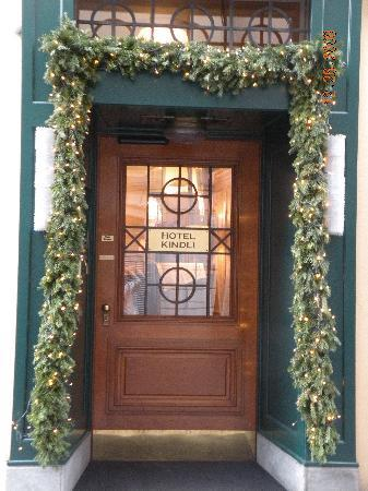 Haus Zum Kindli: front door