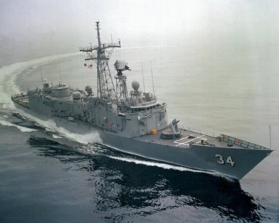 2nd ship,USS Aubrey Fitch,frigate FFG 1984-86 Mayport,Fla