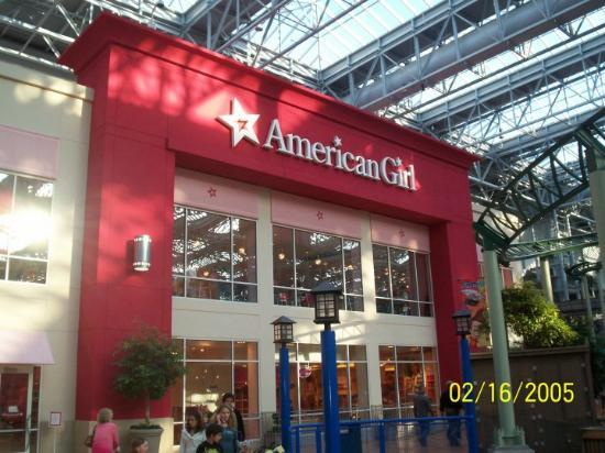 Foto De Mall Of America Bloomington Front Of The American Girl Store That Is The New Home Of