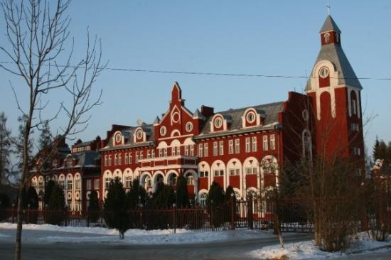 Тула, Россия: The college in Tullah we stayed in, much nicer on the outside than on the inside!