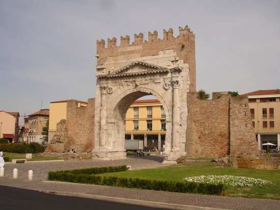 arco d&#39;augusto rimini