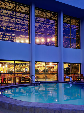Crowne Plaza Jacksonville Airport Hotel: Enjoy our indoor/outdoor pool...