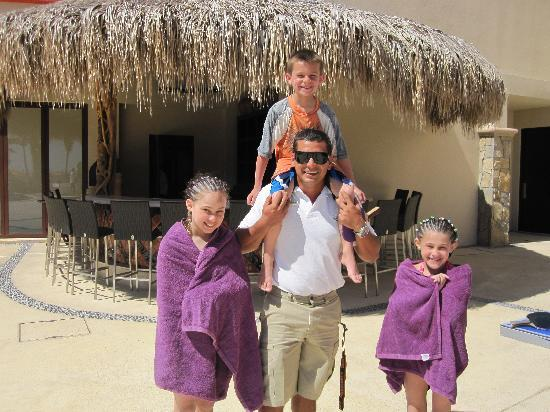 Welk Resorts Sirena Del Mar: Manny with our kids