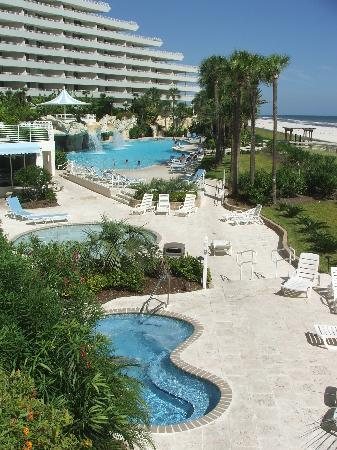 Perdido Key, Floride : Spa, Kiddie Pool and Main Pool