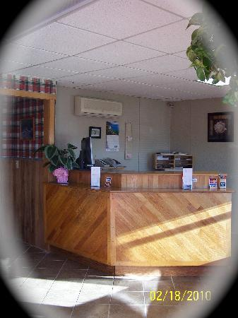 Mount Blue Motel: We have on site management and offer complimentary coffee and continental breakfast each morning