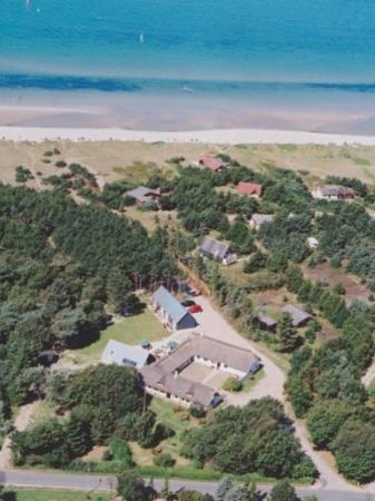 Strandgaarden Badehotel: From the air