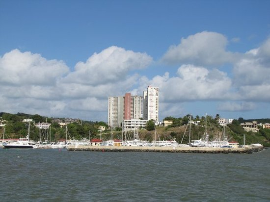 Carolina, Puerto Rico: On our way to Culebra Island. This is the view from the ferry to Puerto Rico