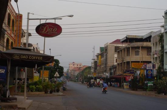 Main street of Pakse