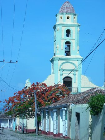 Trinidad, Cuba: the main Cathedral