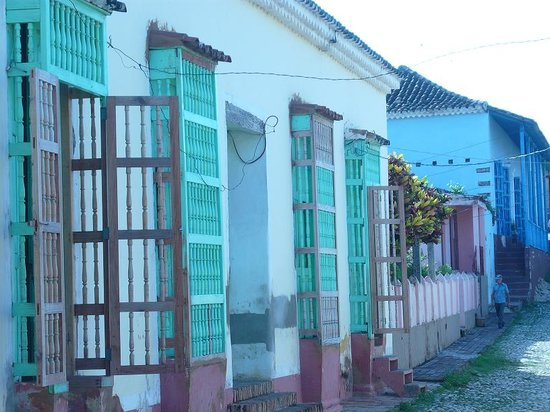 Trinidad, Cuba : beatyfull architecturl style 