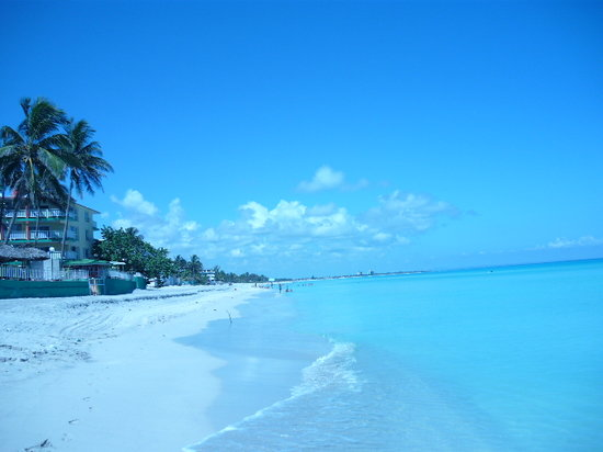 view of the beach in Varadero