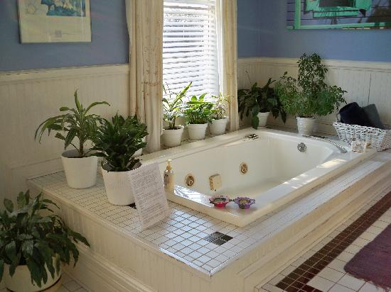 Sugar Magnolia Bed & Breakfast: royal suite bathroom