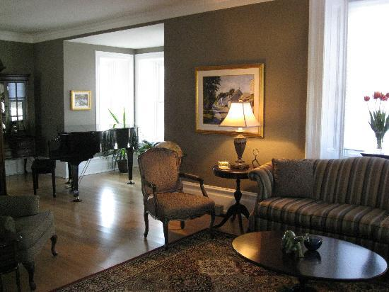 Merrickville, Canada: Living Room