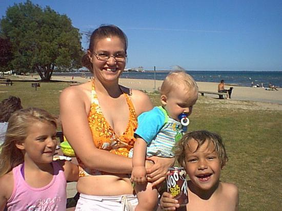 Alpena, MI: Michele my daughter-in-law and lil frankie Kristina and my Son Shawn