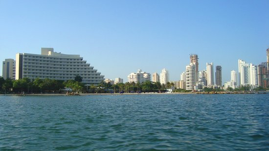 Cartagena, Kolumbien: El Laguito y Bocagrande