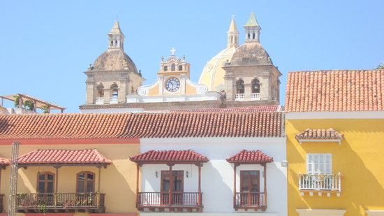 Cartagena, Kolumbien: San Pedro Cathedral