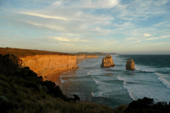 Victoria, Australien: Great Ocean Road: Gibsen steps