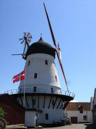 Bornholm - windmil and private museum
