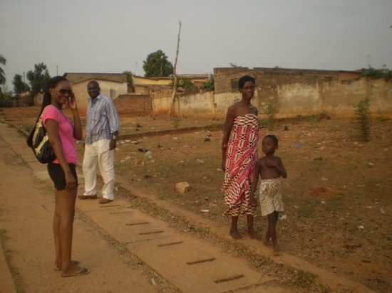 Lomé, Togo: That littl girl was so cute
