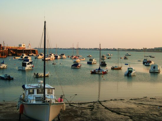 Jersey, UK: Gorey harbour