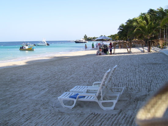 West Bay, Honduras : Spiaggia 