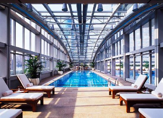 24 Hour Fitness Center Picture Of Jw Marriott Hotel Shanghai At Tomorrow Square Shanghai
