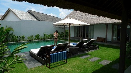 Villa Damai: my favourite room with a pool view