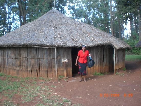 Bomas of kenya never knew kikuyu original homes were made from wood