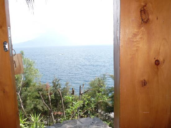 Villa Sumaya: View from bed in room 9